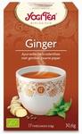 Yogi tea Ginger gember BIO 17zakjes
