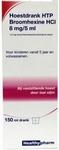 Healthypharm Hoestdrank broomhexine HCl 8mg/5ml 150ml