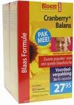 Bloem Cranberry+ balans DUOVERPAKKING  2x 60cap