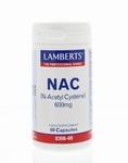 Lamberts N Acetyl cysteine  90caps