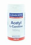 Lamberts  Acetyl l-carnitine 60caps