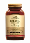Solgar 1081 Folacin 400 µg (Foliumzuur, Vitamine B9) 250tabl