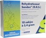 Sandoz Rehydratatiezout O.R.S. 10zakjes à 5,4gram