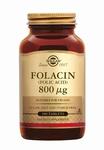 Solgar 1100 Folacin 800 µg (Foliumzuur Vitamine B9) 100tabl