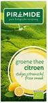 Piramide Groene thee met citroen EKO BIO 20builtjes