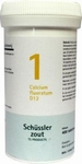 Pfluger Schusslerzout  1 Calcium fluoratum D12