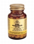 Solgar 3725 Zinc Picolinate 22 mg Zink 100tabl