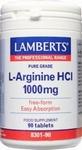 Lamberts L-Arginine 1000 mg 90tab