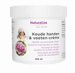 Naturalize Koude handen & voetencreme 250ml