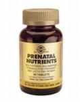 Solgar 2271 Prenatal Nutrients 60tabl