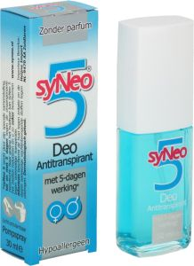 Syneo 5 buysen geleen de gezondheidswinkel anti transpirant deodorant hyperh - Coussin anti transpirant ...